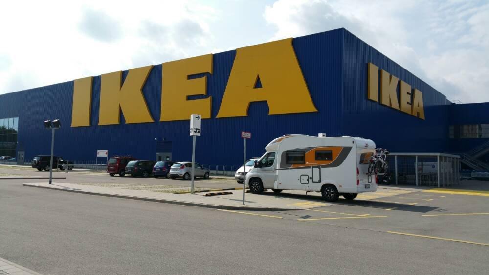Parkplatz Ikea Lübeck