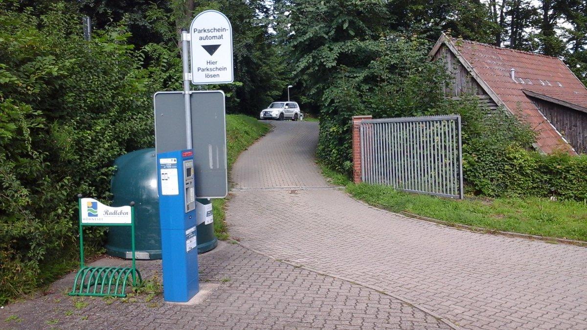 Stellplatz Möhnesee Delecke