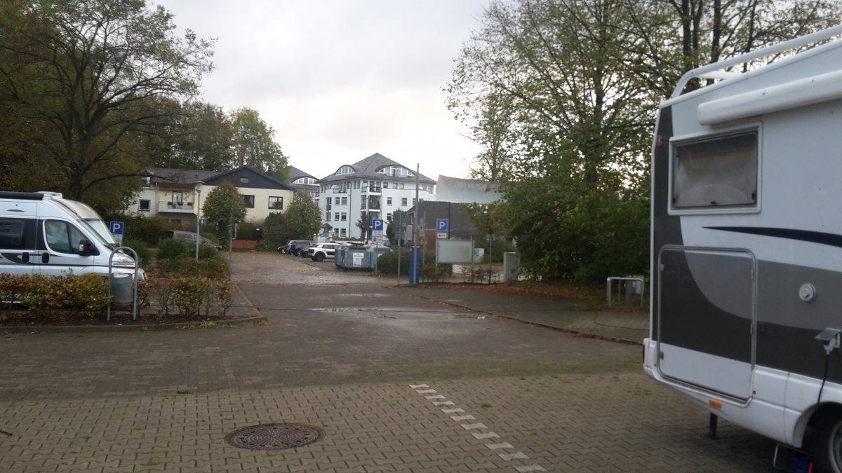 Stellplatz am Kurpark Bad Schwartau