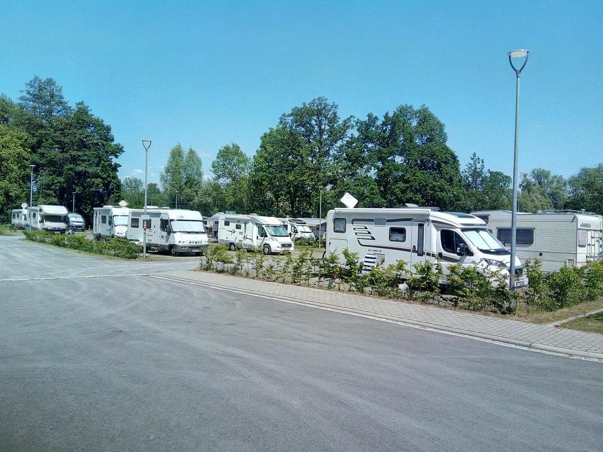 Wohnmobilstellplatz Thermenaue Bad Rodach
